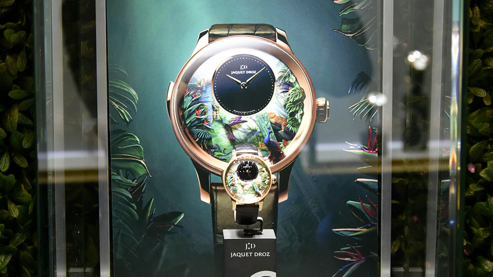 Jaquet Droz, Story Of The Unique Exibition in New York, Tropical Bird Repeater