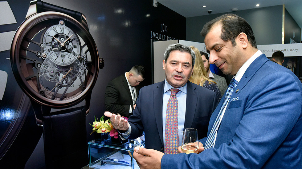 Jaquet Droz, Story Of The Unique Exibition in New York, Fracois Bezault