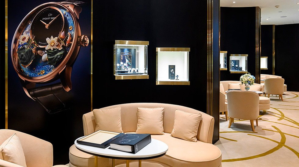 Jaquet Droz, Thailand Opening, Interior View