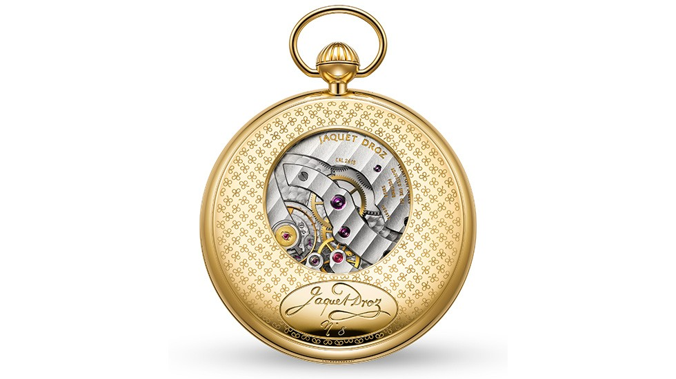 Jaquet Droz, Grande Seconde Pocket Watch, Back, J080031000