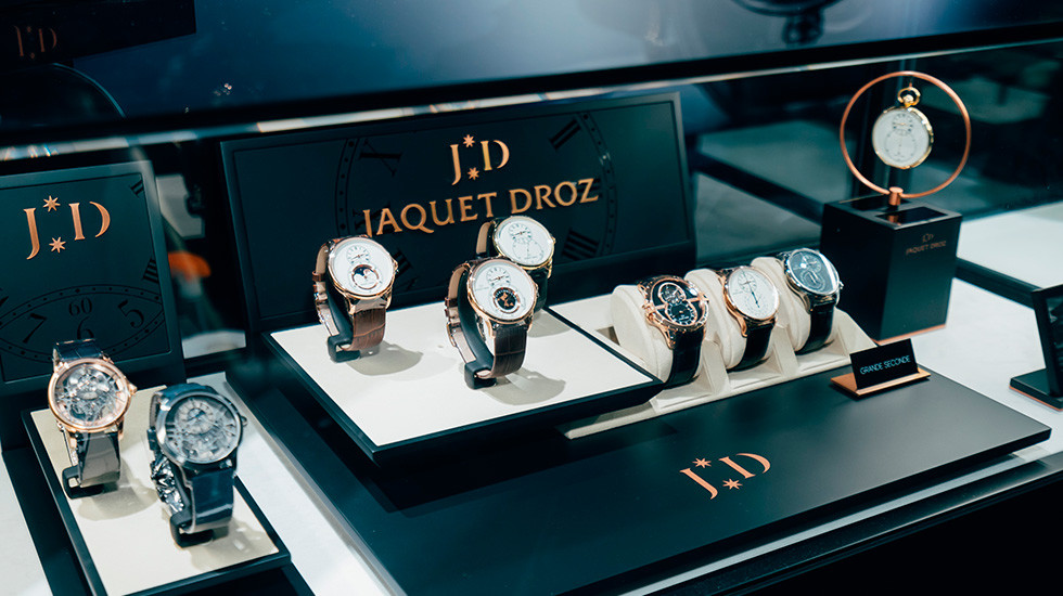 Jaquet Droz, Timepiece Museum Exhibition, Novelties Showcase