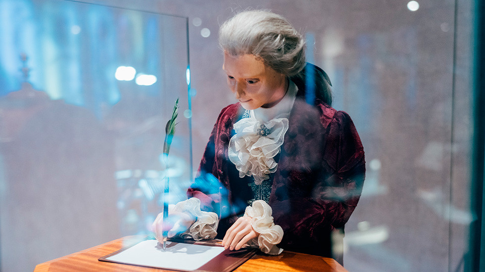 Jaquet Droz, Timepiece Museum Exhibition, The Writer Automaton