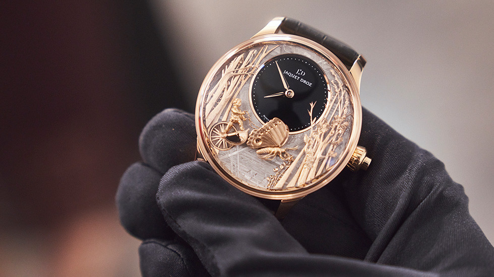 Jaquet Droz, Workshop Event Geneva, ^Loving Butterfly Automaton