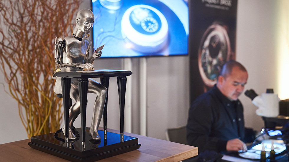 Jaquet Droz, Workshop Event Geneva, The Poete Automaton and Artist