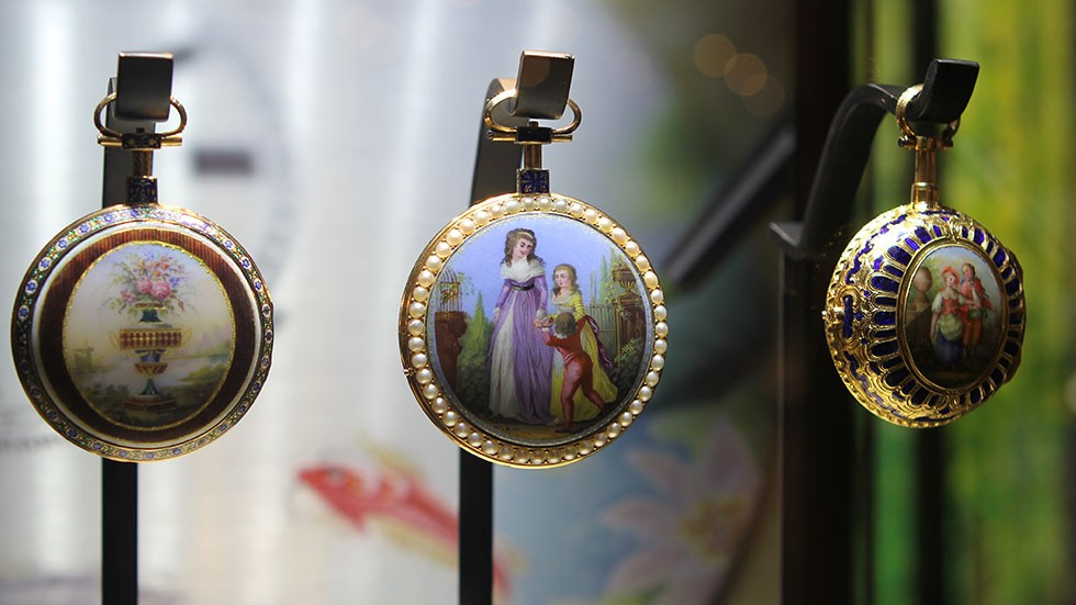 JAQUET DROZ LAS VEGAS EXHIBITION POCKET WATCHES