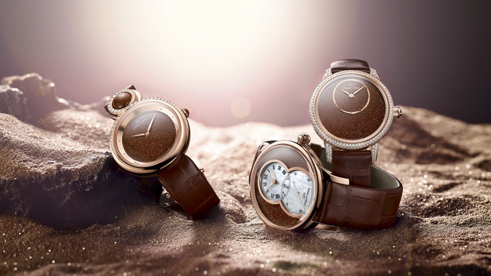 SUNSTONE TRIO JAQUET DROZ SLIDER