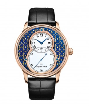 GRANDE SECONDE PAILLONNÉE BY JAQUET DROZ