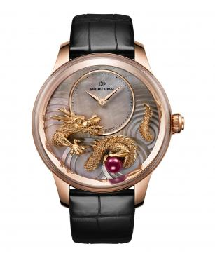 Petite Heure Minute Relief Dragon - Jaquet Droz watch J005023271