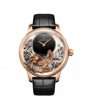 Petite Heure Minute Relief Rooster - Jaquet Droz watch J005023282