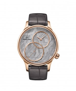 Jaquet Droz, Grande Seconde Off-centered Meteorite, J006013270 ,Front