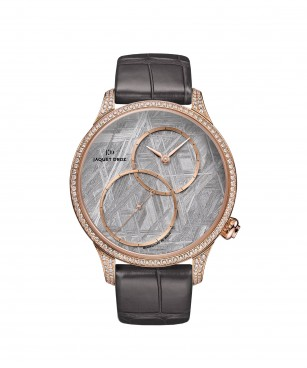 Jaquet Droz, Grande Seconde Off-centered Meteorite, J006013271 ,Front