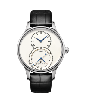Grande Seconde Quantieme Ivory Enamel - Jaquet Droz watch J007014200