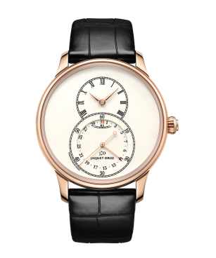 Grande Seconde Quantieme Ivory Enamel - Jaquet Droz watch J007033200