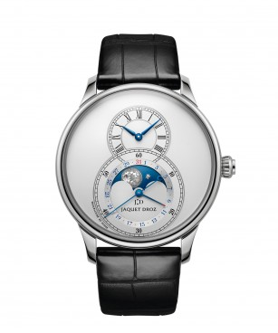 J007530240, GRANDE SECONDE MOON SILVER, front