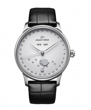 THE ÉCLIPSE SILVER FRONT BY JAQUET DROZ