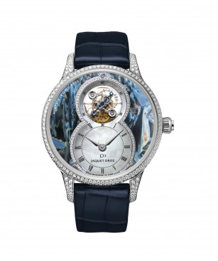 GRANDE SECONDE TOURBILLON PIETERSITE BLEUE