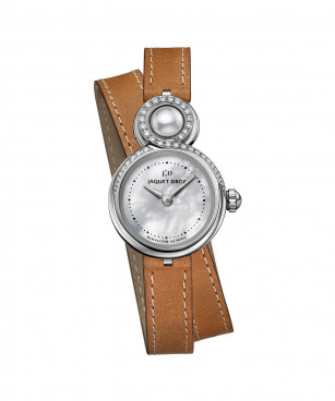 Jaquet Droz, Lady 8 Petite Mother-of-pearl, J014600373, Front