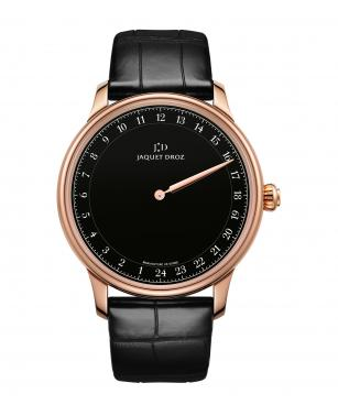 Grande Heure Black Enamel - Jaquet Droz watch J025033202