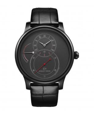 Grande Seconde Power Reserve Black Enamel - Jaquet Droz watch J027035240