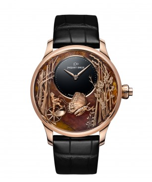 Jaquet Droz, Loving Butterfly Automaton, J032533275, Front