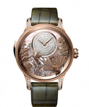 Jaquet Droz, Tropical Bird Repeater, J033033206, Front