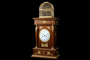 INSIGHTS FROM THE EXPERTS WORKING ON THE RESTORATION OF THE SINGING BIRD PENDULUM CLOCK BY PIERRE JAQUET-DROZ