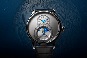 NEW MOON RISING OVER THE GRANDE SECONDE MOON COLLECTION