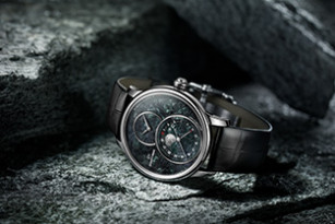 Jaquet Droz, Grande Seconde Moon Swiss Serpentinite