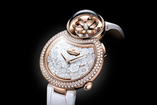 LADY 8 FLOWER: NEW ANIMATED FLORAL POETRY BY JAQUET DROZ