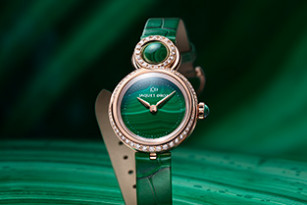 BOHEMIAN CHIC: JAQUET DROZ UNVEILS TWO NEW VERSIONS OF ITS LADY 8 PETITE