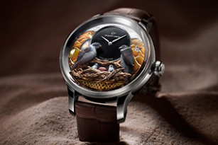 JAQUET DROZ BIRD REPEATER FALCON