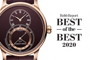 ROBB REPORT BEST OF THE BEST AWARD 2020