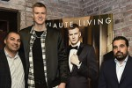 Haute Living and Jaquet Droz celebrates Kristaps Porzingis