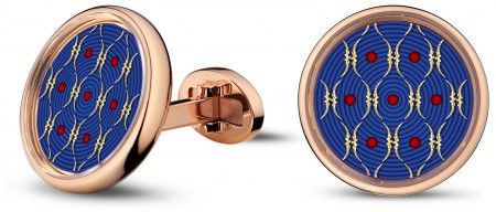 CUFFLINKS PAILLONNÉS BY JAQUET DROZ