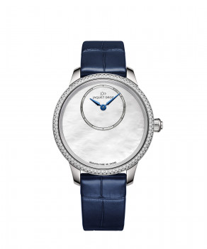 Jaquet Droz, Petite Heure Minute Mother-of-pearl, J005000274, Front