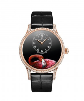 J005013217, Petite Heure Minute Pink Flamingo, front