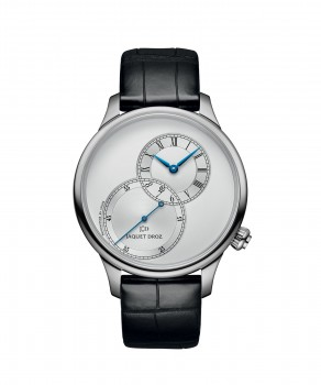 J006010240, Grande Seconde Off-centered Silver, front