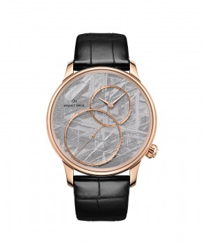 Jaquet Droz, Grande Seconde Off-centered Meteorite, J006033271 ,Front