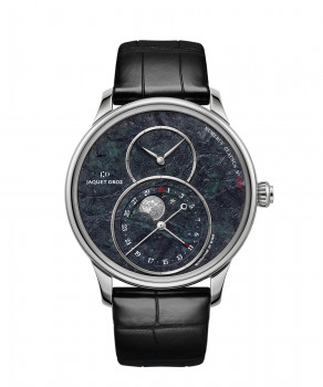 J007530271, GRANDE SECONDE MOON SWISS SERPENTINITE