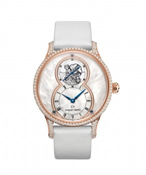 Jaquet Droz, Grande Seconde Tourbillon Mother-of-pearl, J013013580, Front