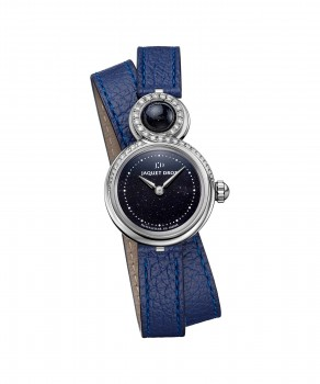 Jaquet Droz, Lady 8 Small Aventurine, J014600371, Front