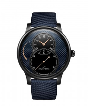 Jaquet Droz, Grande Seconde Power Reserve Ceramic Clous De Paris, J027035542 ,Front