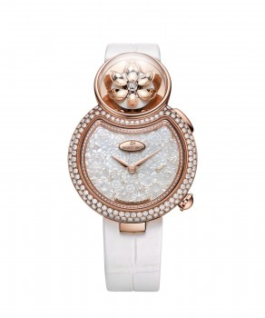 Jaquet Droz, Lady 8 Flower, J032003271 ,Front