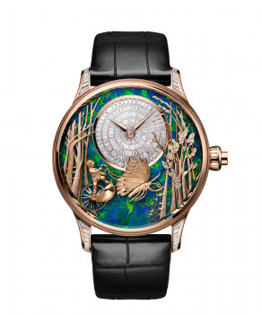 Jaquet Droz, Loving Butterfly Automaton, Front