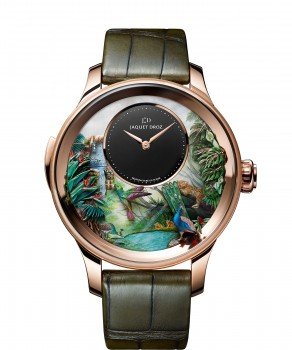 Jaquet Droz, Tropical Bird Repeater, J033033200, Front