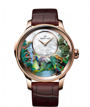 Jaquet Droz, Tropical Bird Repeater, J033033204, Front
