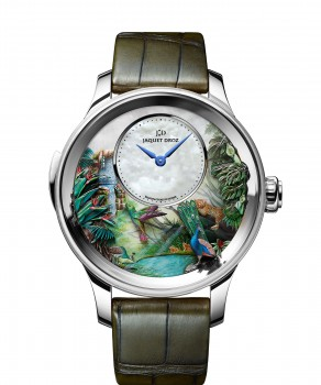 Jaquet Droz, Tropical Bird Repeater, J033034200, Front