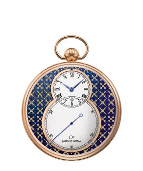 Jaquet Droz, J080033044, The Pocket Watch Paillonnée, Front