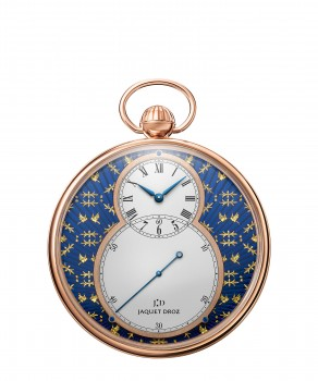 Jaquet Droz, J080033047, Pocket Watch Paillonnée, front