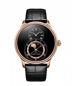 Jaquet Droz, Grande Seconde Moon Black Enamel, J007533201, Front